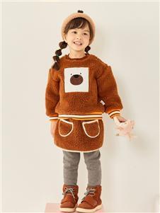 Moomoo童装秋冬款羊羔毛