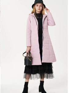艺域女装艺域女装新款粉色羽绒服