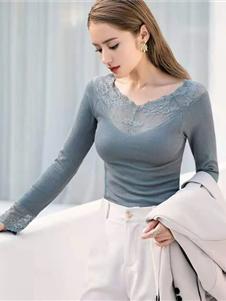 玫瑰春天内衣新款打底衫