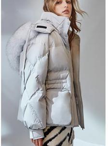 欧时力女装新款羽绒服