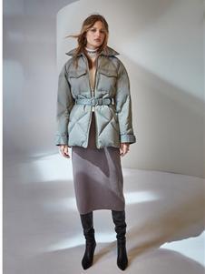 欧时力女装新款棉服