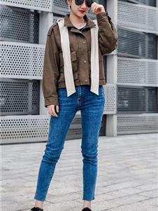 新佳娜休闲装新款外套