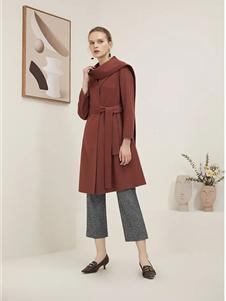 海兰丝女装新款外套