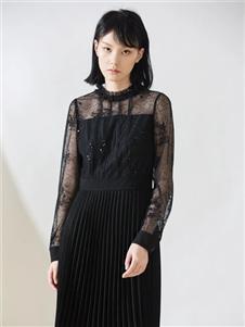 阿莱贝琳修身连衣裙