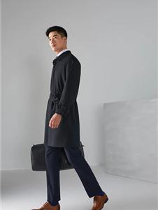 雅戈尔男装新款大衣