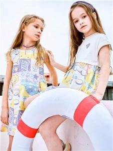暇步士童装暇步士2021新款连衣裙