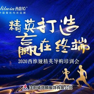 """热烈祝贺西维娅""""精英打造·赢在终端""""2020辽吉精英培训会圆满成功"""