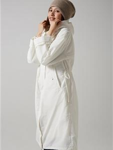 那禾女装新款长款外套
