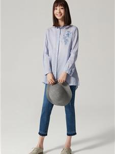 布景女装布景女装新款衬衫