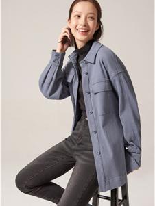 布景女装布景女装新款毛呢外套