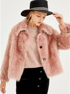 迪赛尼斯女装新款羊羔毛