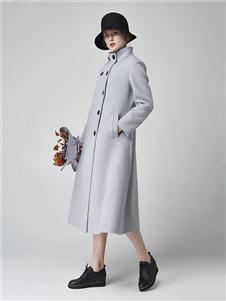 墨曲女装新款大衣