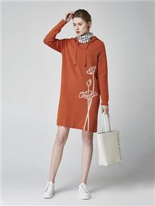 墨曲女装墨曲女装新款毛衣裙