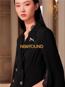 纽方黑色西装外套