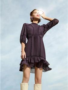 芮玛女装2021新款衬衫裙