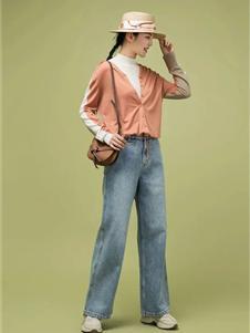 允硕女装允硕2021春夏款牛仔裤