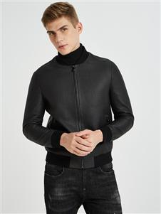 PLOVER男装新款黑色外套