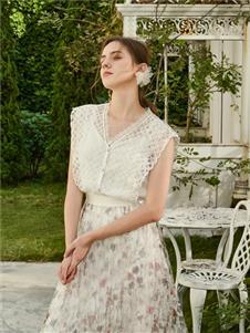 贝洛安女装贝洛安2021春夏款碎花半身裙