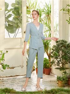 贝洛安女装贝洛安2021春夏款西装套装