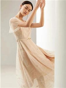 迪图2021春款纱裙