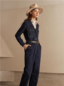 丽迪莎时尚牛仔连体装