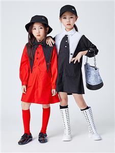 JOJO女童2021春新款连衣裙