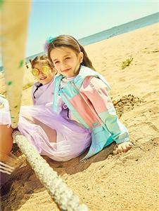 水孩儿童装水孩儿女童春可爱时尚外套
