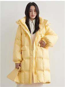 鸭鸭YAYA2013冬季羽绒服样品