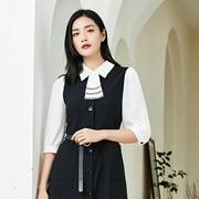 JIARENYUAN佳人苑:简约黑白Look,穿出别样的女人味