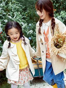 青蛙王子童裝21女童風衣