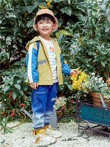 青蛙王子童裝21春男童外套