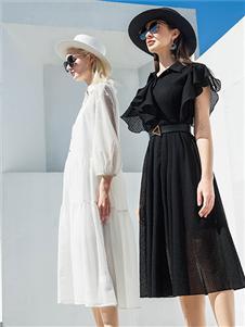 例格女装21夏气质连衣裙