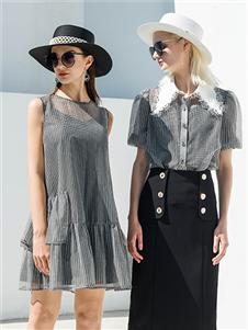 例格女装21夏唯美套装裙