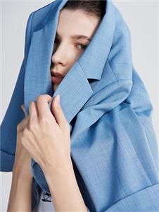 沙与沫21春新款OL西服外套