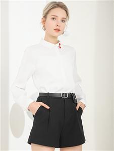 容悦女装Loyer.Mod容悦新款白色衬衫