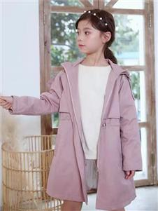 宾果童话童装宾果童话粉色风衣