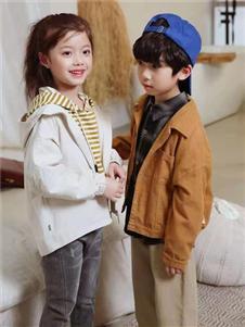 宾果童话童装宾果童话新款白色外套