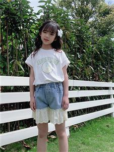 小嗨皮童装小嗨皮女童夏新款T恤