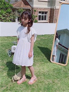 小嗨皮女童夏韩版连衣裙