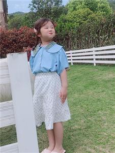 小嗨皮女童夏可爱套装