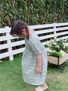 小嗨皮女童夏新款连衣裙