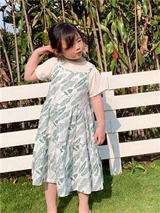 小嗨皮童装女童夏连衣裙