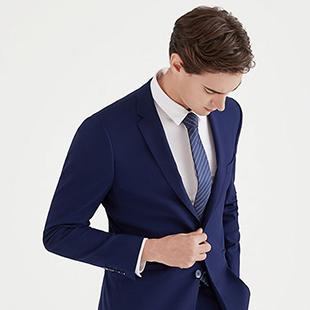 春季男士帅气穿搭有哪些  乔治邦尼为你的职场生活增添一抹亮色!