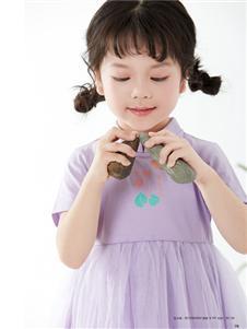 巴迪小虎2021春夏女纱裙