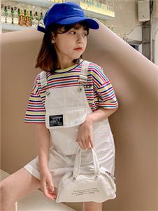 糖麦卡童装背带裙