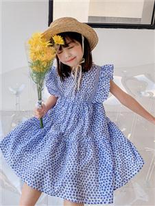 糖麦卡童装连衣裙