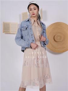 薇薇希女装牛仔外套