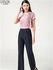 迪丝爱尔女装迪丝爱尔女装粉色T恤