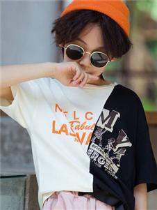 妙優新款時尚男童T恤