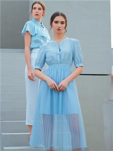 金蝶茜妮新款网纱裙